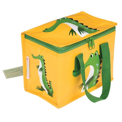 Crocodile Lunch Bag from Hyde and Seek