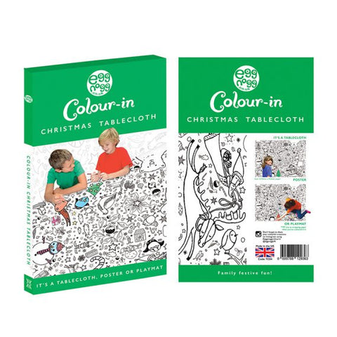Christmas Colour-in Tablecloth