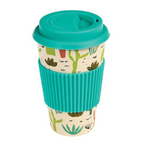 Desert in Bloom Bamboo Travel Mug from Hyde and Seek