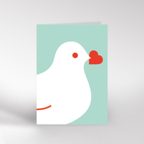 Dove and Heart Card