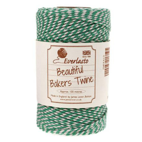 BAKERS TWINE IN EMERALD GREEN