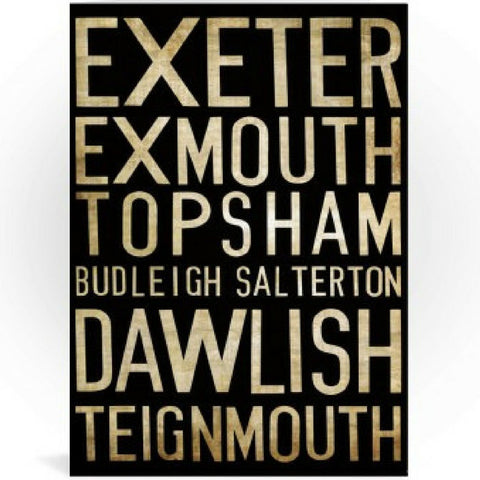 Exeter Greeting Cards from Hyde and Seek