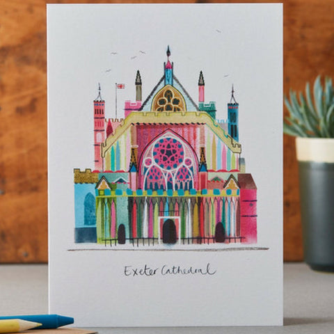Exeter Cathedral Card