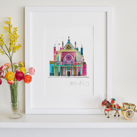 Exeter Cathedral Print