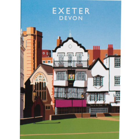 Exeter Devon Card from Hyde and Seek