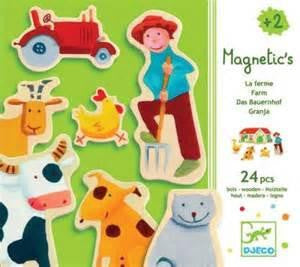 Farm Magnets by Djeco
