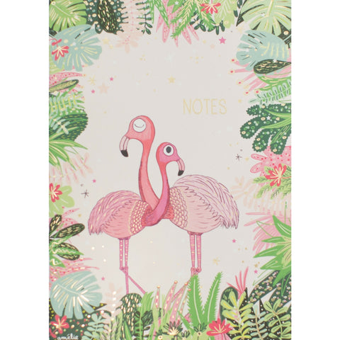 Flamingo Notes Notebook