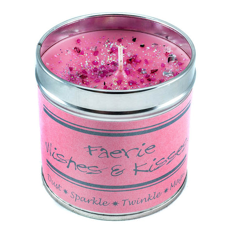 Faerie Wishes And Kisses Candle