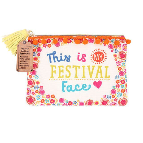 Festival Face Make up Pouch from Hyde and Seek