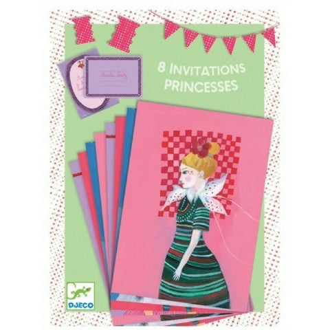 Princess Party Invitations by Djeco from Hyde and Seek