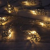 Gold Pineapple String Lights