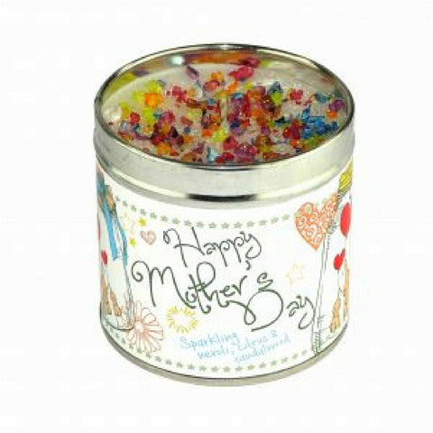 Happy Mothers Day Candle in a Tin