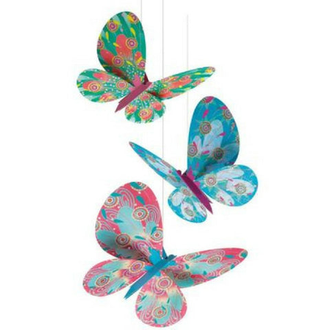 Hanging Decorative Butterflies by Djeco