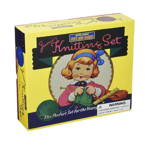 Retro Junior Knitting Set