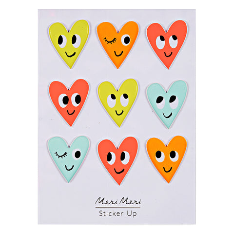 Heart Stickers by Meri Meri