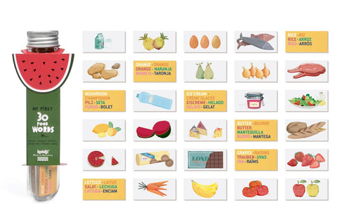Micro Food Dictionary Game