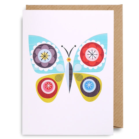 Mini Butterfly Card