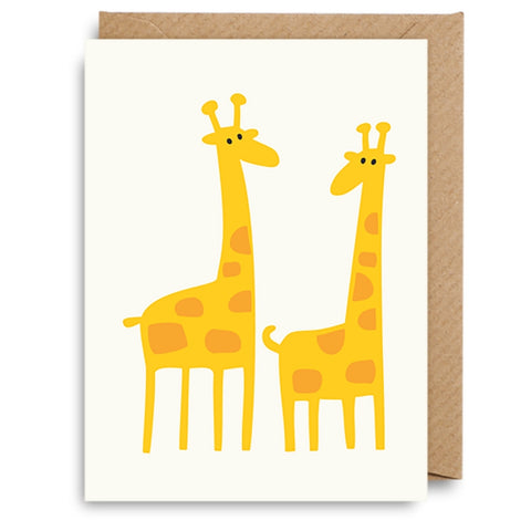 Mini Giraffe Card