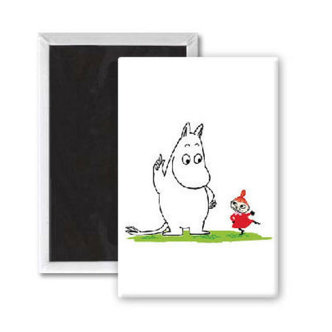 Moomintroll and Little My Magnet from Hyde and Seek