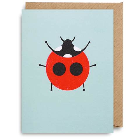 Mini Ladybird Card