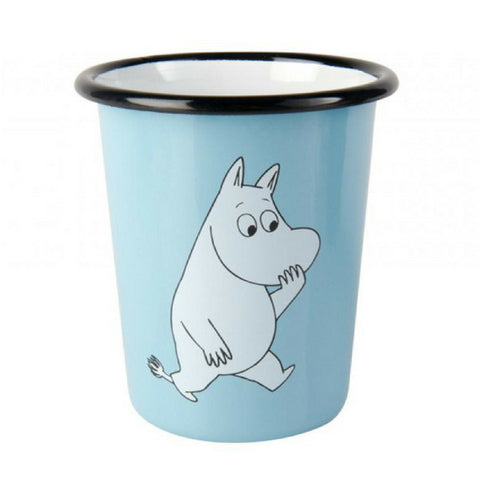 Moomin Retro Tumbler Light Blue