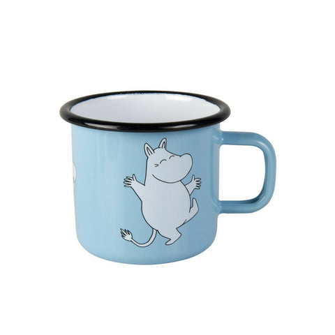 Moomin Retro Small Light Blue Mug