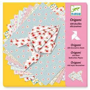Origami 100 Folding Girls Sheets by Djeco