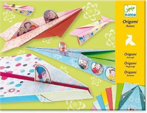 Origami Folding Planes for Girls by Djeco