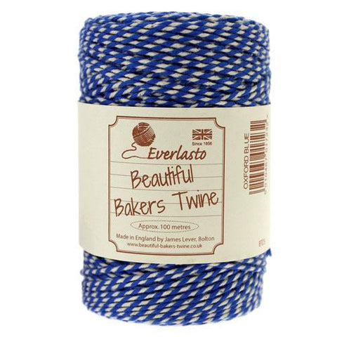 BAKERS TWINE IN OXFORD BLUE