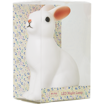 Rabbit Colour Changing LED Night Light by Rice