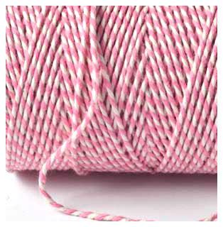 BAKERS TWINE ROSE PINK