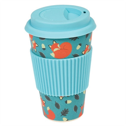 Rusty the Fox Bamboo Travel Mug from Hyde and Seek