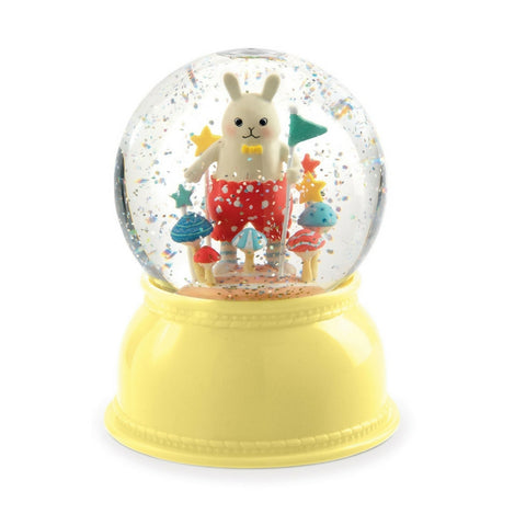 Rabbit Snow Globe Night Light