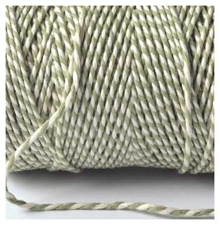 BAKERS TWINE IN SAGE GREEN