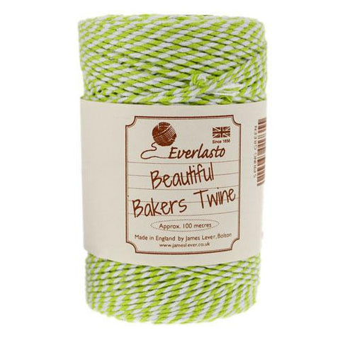 BAKERS TWINE IN SPRING LIME