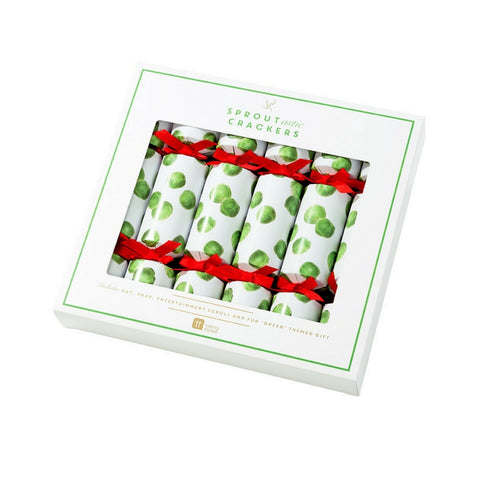 Botanical Sprout Christmas Crackers by Talking Tables
