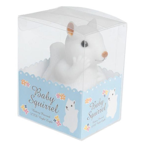 Baby Squirrel Night Light from Hyde and Seek