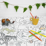 Amazing Animals Colour-in Tablecloth