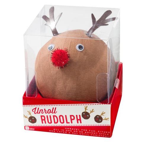 Unroll Rudolph Wonderball by Talking Tables