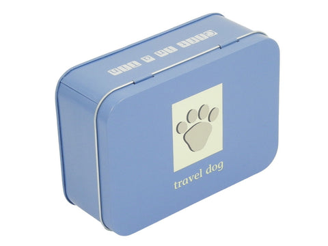 Travel Dog Gift in a Tin