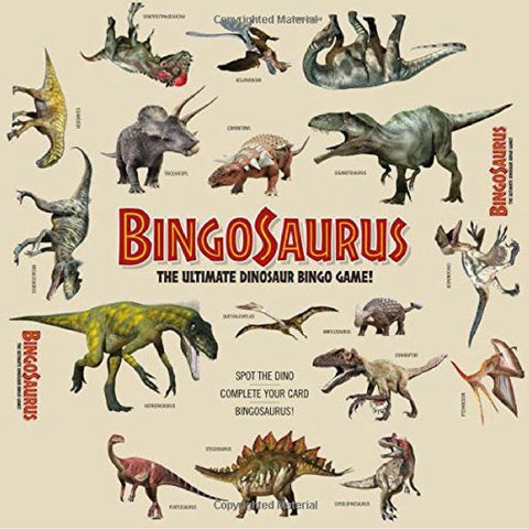 Bingosaurus - The Ultimate Dinosaur Bingo Game