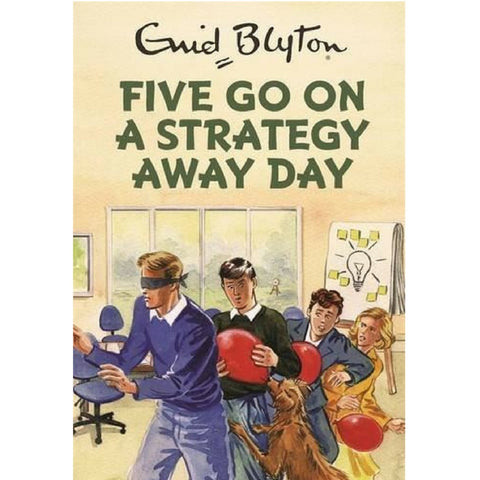 Buy Enid Blyton Five Go On a Strategy Away Day Book from Hyde and Seek