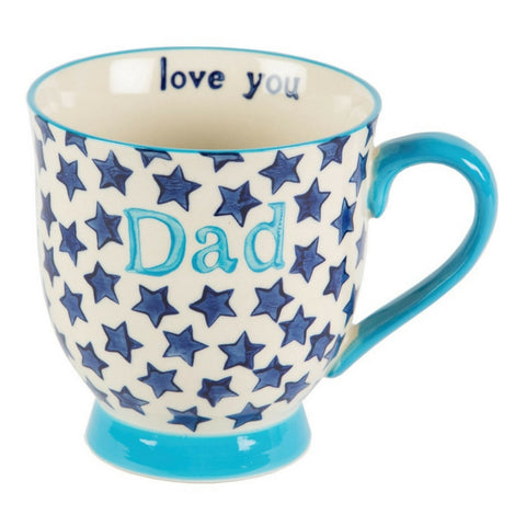 Bohemian Stars Dad Mug by Sass & Belle