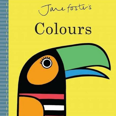 Jane Foster's Colours Book