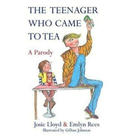 Buy The Teenager Who Came To Tea Book from Hyde and Seek