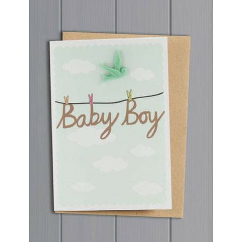 Buy Baby Boy Card from Hyde and Seek