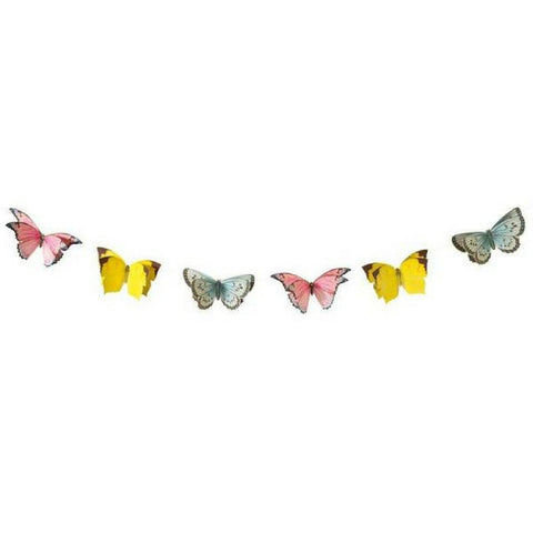 Butterfly 3D Paper Bunting by Talking Tables