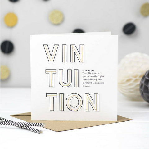 Vintuition Wine Card