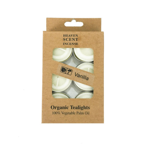 Box of 6 Vanilla Fragrance Tea Lights