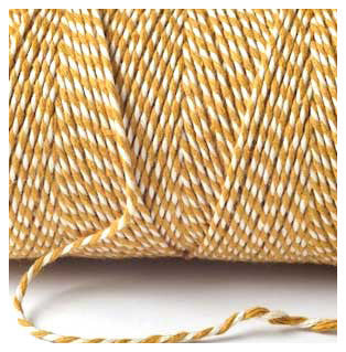 BAKERS TWINE YORK GOLD 100M
